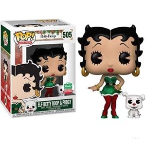 Limited edition Elf Betty Boop #505